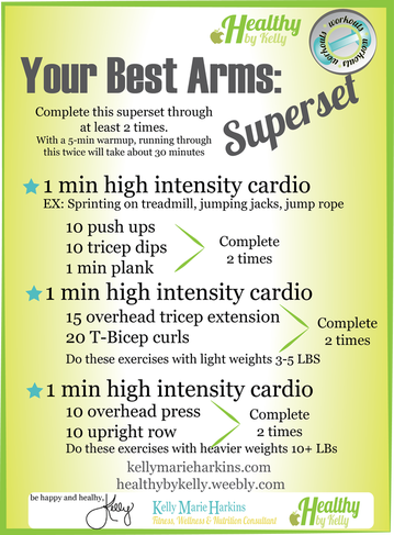 Your Best Arms- Superset