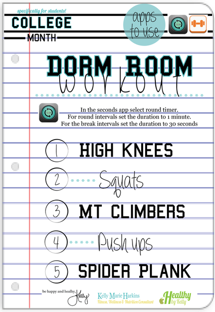 Dorm Room Workout